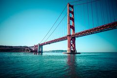 Golden Gate Bridge in San Francisco, California. Royalty Free Stock Photo