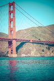 Golden Gate Bridge in San Francisco, California. Stock Image