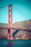 Golden Gate Bridge in San Francisco, California. Royalty Free Stock Photography