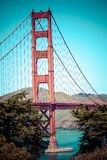 Golden Gate Bridge in San Francisco, California. Stock Images