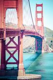 Golden Gate Bridge in San Francisco, California. Royalty Free Stock Photos