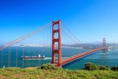 Golden Gate Bridge in San Francisco Stock Photos