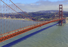 Golden Gate Bridge in San Francisco, California Stock Image