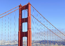 Golden Gate Bridge in San Francisco, California Royalty Free Stock Photos