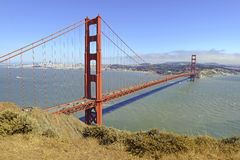 Golden Gate Bridge in San Francisco, California Royalty Free Stock Photography
