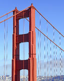 Golden Gate Bridge in San Francisco, California Royalty Free Stock Images