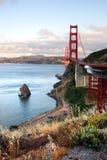 The Golden Gate Bridge of San Francisco, California, USA Stock Photos