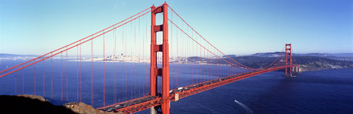 Golden Gate bridge, San Francisco, California, USA Stock Images
