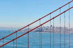 Golden Gate bridge in San Francisco, California, USA royalty free stock images