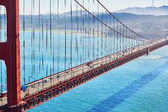 Golden Gate bridge in San Francisco, California, USA royalty free stock photo