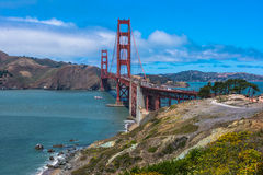 The Golden Gate Bridge, San Francisco Royalty Free Stock Photography