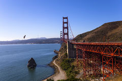 Golden gate bridge, San Francisco, California, USA Stock Photos