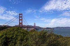 Golden gate bridge, San Francisco, California, USA Royalty Free Stock Photos