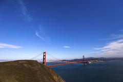 Golden gate bridge, San Francisco, California, USA Stock Image