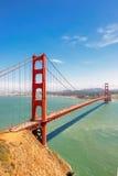 Golden Gate Bridge in San Francisco, California, vertical. Stock Images