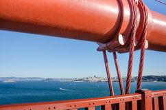 Golden Gate Bridge in San Francisco, California Stock Photo