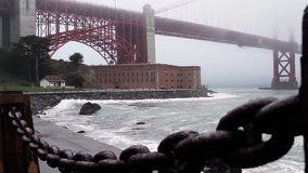 Golden Gate Bridge, San Francisco (Cities) stock footage