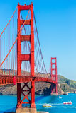 Golden gate bridge San Francisco da Presidio California fotografie stock