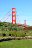 Golden gate bridge in San Francisco, de V.S. royalty-vrije stock fotografie