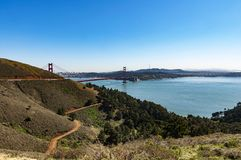 Golden gate bridge, San Francisco, de Verenigde Staten van Amerika stock foto