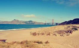 Golden gate bridge, San Francisco, Etats-Unis Images libres de droits