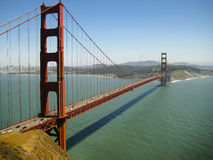 Golden gate bridge - San Francisco - Förenta staterna Arkivbilder