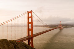 Golden Gate Bridge in San Francisco Royalty Free Stock Images