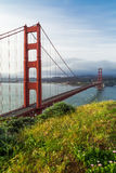 Golden Gate Bridge in San Francisco Stock Photography