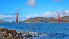 Golden Gate Bridge. San Francisco Royalty Free Stock Photography