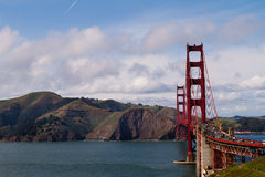 Golden gate bridge in San Francisco, Kalifornien Stockfotografie