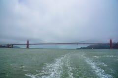 Golden gate bridge San Francisco - Kalifornien Arkivfoto