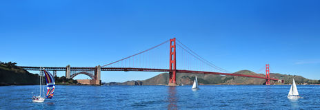 Golden gate bridge San Francisco, Kalifornien USA Royaltyfri Bild