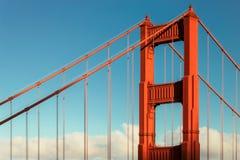 Golden gate bridge in San Francisco, Kalifornien, USA Stockfotos