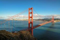 Golden gate bridge in San Francisco, Kalifornien, USA Lizenzfreies Stockbild