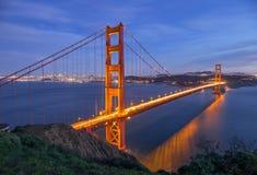 Golden Gate Bridge in San Francisco Stock Photography