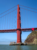 Golden Gate Bridge in San Francisco Royalty Free Stock Photos