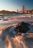 Golden Gate Bridge of San Francisco Stock Image