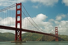 Golden Gate Bridge of San Francisco Stock Photography