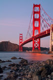 Golden Gate Bridge of San Francisco Stock Photos