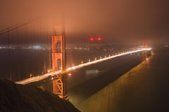 Golden Gate Bridge of San Francisco Royalty Free Stock Photos