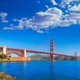 Golden Gate Bridge San Francisco from Presidio California Stock Photos