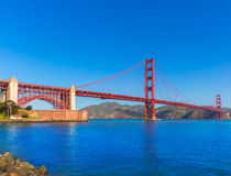 Golden Gate Bridge San Francisco from Presidio California Stock Photography