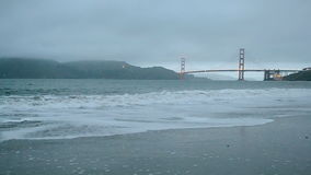 Golden gate bridge in San Francisco, Reise, stock video