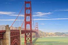 The Golden Gate Bridge in San-Francisco Royalty Free Stock Image