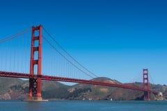 Golden Gate Bridge in San Francisco. Golden Gate Bridge, San Francisco in Summer day Royalty Free Stock Images