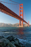The Golden Gate Bridge in San Francisco sunset Royalty Free Stock Photography