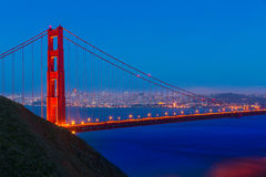 Golden Gate Bridge San Francisco sunset California Royalty Free Stock Images