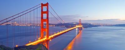 Golden gate bridge, San Francisco, U.S.A. Fotografia Stock Libera da Diritti