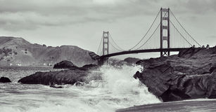 Golden Gate Bridge, San Francisco, United States Royalty Free Stock Images