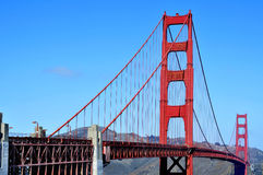 Golden Gate Bridge, San Francisco, United States Royalty Free Stock Image